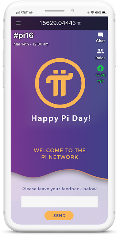 Pi Network Mobile App to mine cryptocurrency